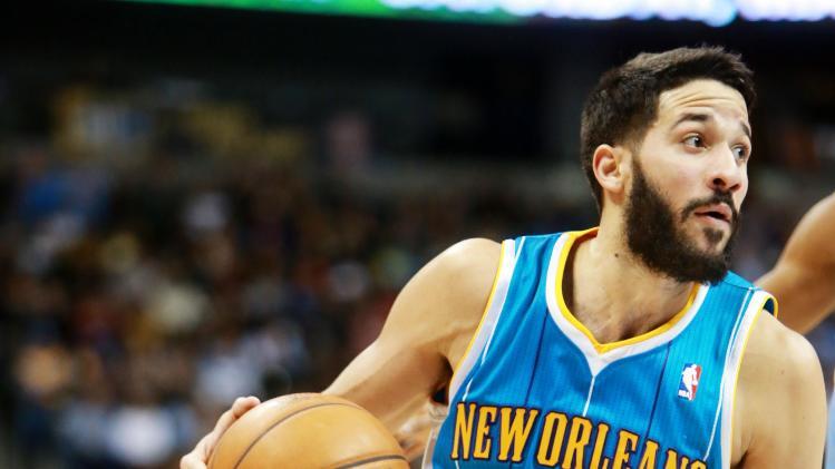 NBA: New Orleans Hornets at Denver Nuggets
