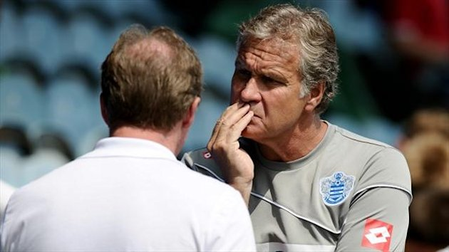 Kevin Bond, right, wants QPR to sign a couple more players