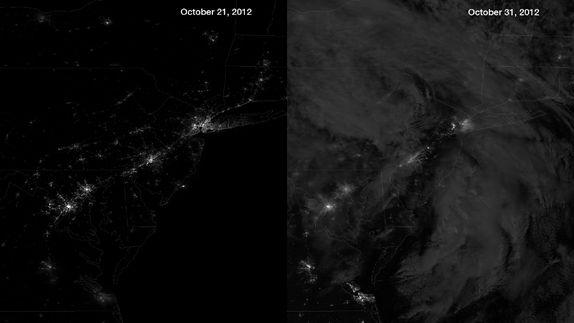 New York's Power Outages Offer Rare Stargazing Opportunity