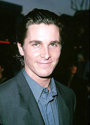Christian Bale at the Westwood premiere of Fox Searchlight's A Midsummer Night's Dream