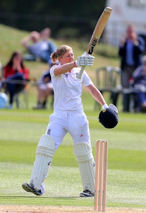 Cricket - First Womens Ashes Test Match - England Women v Australia Women - Day Three - Wormsley Cricket Ground