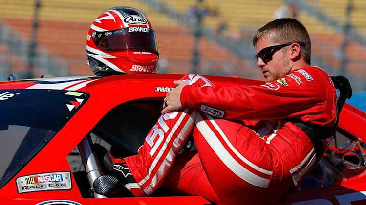 Allgaier has hot hand in Vegas