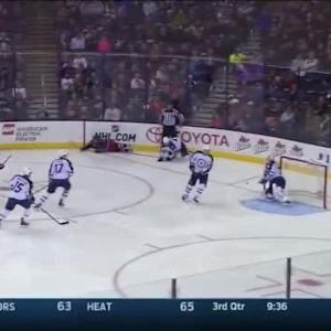 Michael Hutchinson Save on Jack Skille (02:00/3rd)