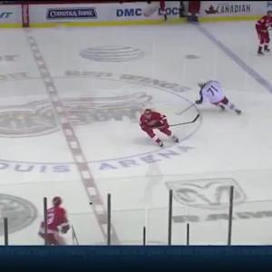 Columbus Blue Jackets at Detroit Red Wings - 12/16/2014