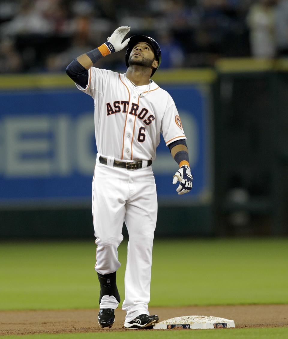 Astros rally off Balfour for 5-4 win over A's