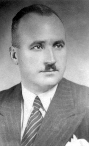 This undated photo released by the Yad Vashem Photo Archive shows Dimitar Peshev.  A request by the Bulgarian Embassy to name a Washington intersection after a favorite native son _ a man credited with helping save the country's Jewish population from deportation, has gotten tangled up in a broader debate about whether the nation is accurately accounting for the actions of its leaders during the Holocaust. (AP Photo/Yad Vashem Photo Archive)