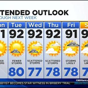 CBSMiami.com Weather 7/28/2014 Monday 6AM