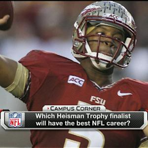 Which Heisman finalist will have the best NFL career?