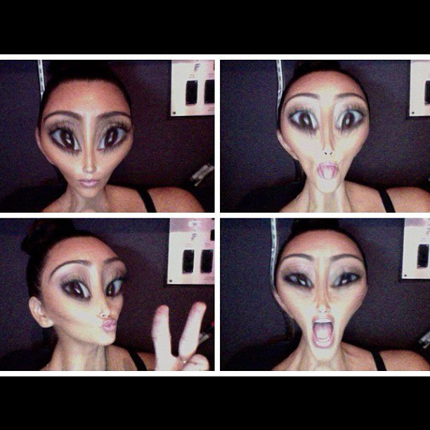 Kim K is ready for abduct …