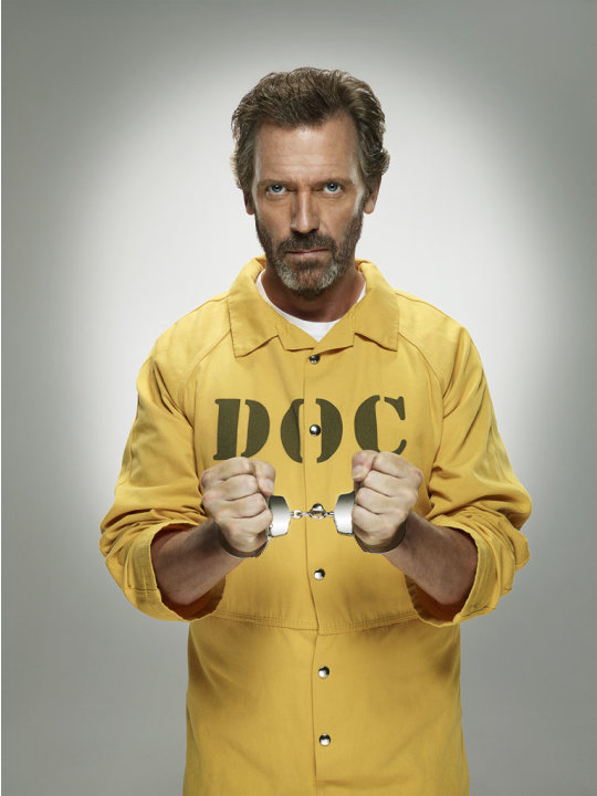 "Hugh Laurie returns as Dr. Gregory House in the Season Eight premiere of ""House."""