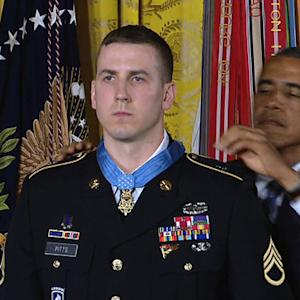 Medal of Honor recipient Sgt. Ryan Pitts: No man fought harder than any other