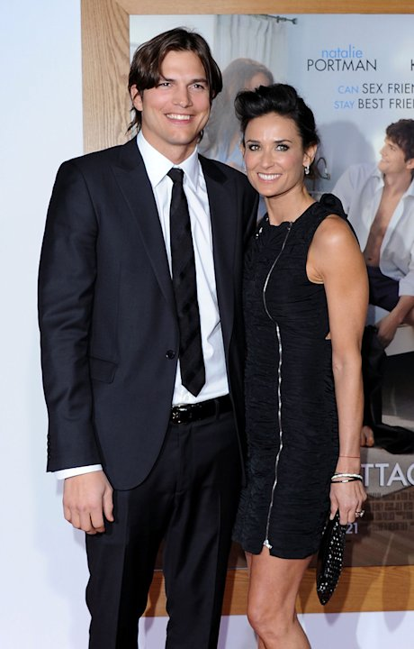 No Strings Attached LA Premiere 2011 Ashton Kutcher Demi Moore