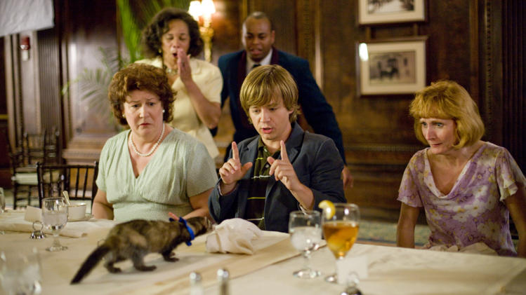 Margo Martindale Jason Earles Hannah Montana The Movie Production Stills Walt Disney 2009