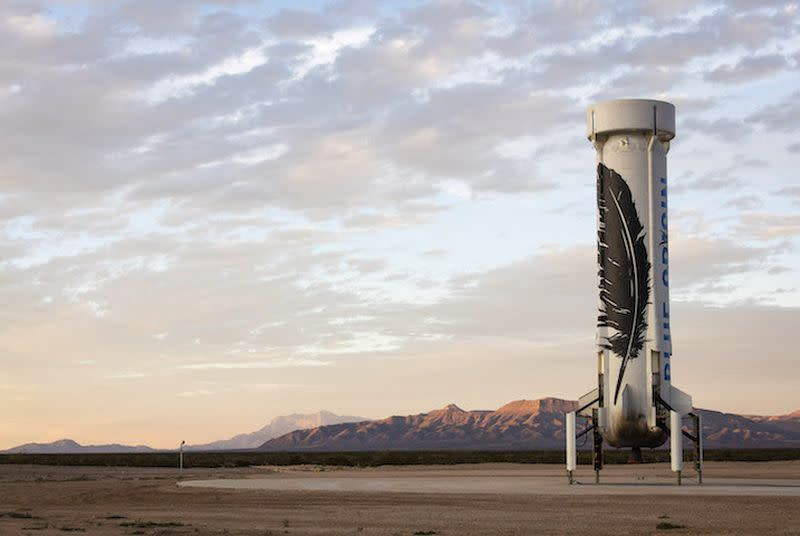 The reusable space rocket is nearly here with Blue Origin's first successful landing