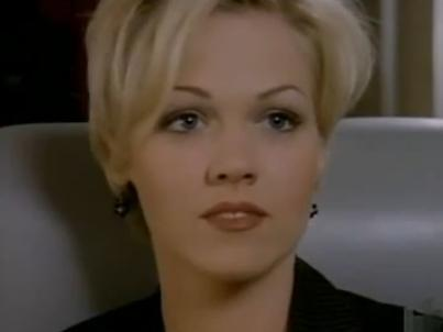 "Kelly Taylor on ""Beverly Hills, 90210,"" played by Jennie Garth"