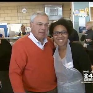 Menino Resumes Thanksgiving Tradition Of Visiting Local Homeless Shelters