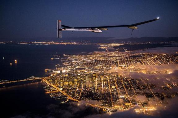 Solar Plane's Pilot Describes 'Revolutionary' Flight