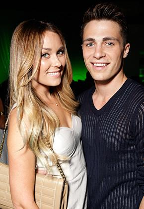 Newly Single Lauren Conrad Flirts With Teen Wolf's Colton Haynes