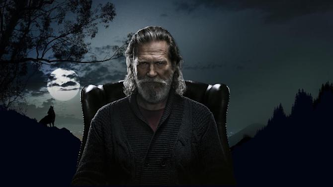 This undated image provided by Squarespace on Thursday, Jan. 29, 2015 shows actor Jeff Bridges who is starring in an advertisement for Squarespace to be shown at the Super Bowl 49 NFL football game. Along with puppies and babies, celebrities are a Super Bowl advertising staple. (AP Photo/Squarespace)