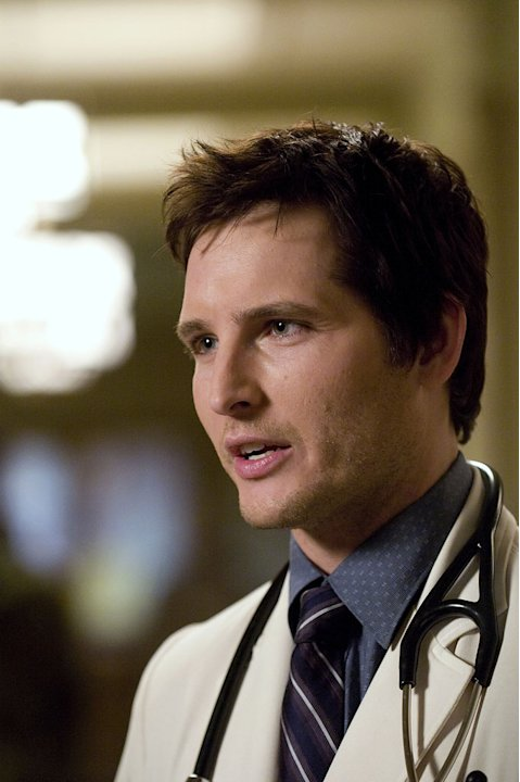 Peter Facinelli stars in the Showtime series Nurse Jackie.