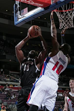 Nets crush Pistons to open 8-game road trip