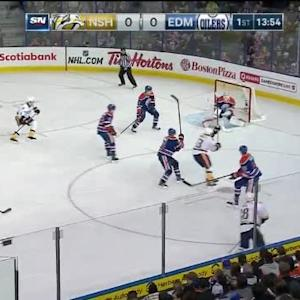 Ben Scrivens Save on James Neal (06:07/1st)