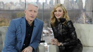 Madonna Joins GLAAD Media Awards to Present Anderson Cooper With Award