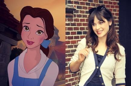 Belle and Zooey Deschanel