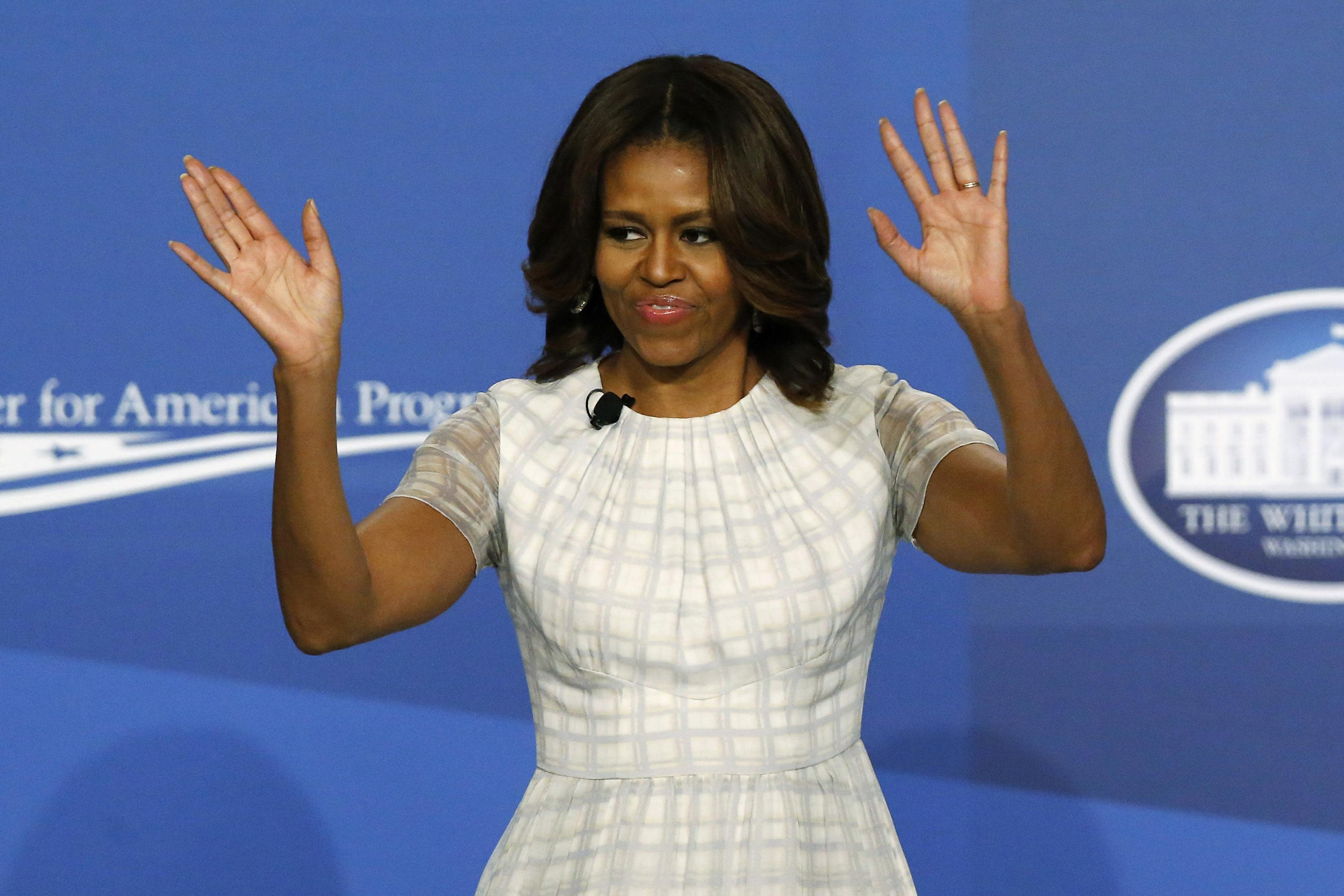 "Michelle Obama weighs in on ""American Sniper"""