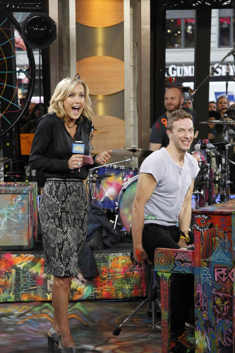 Coldplay Rocks GMA