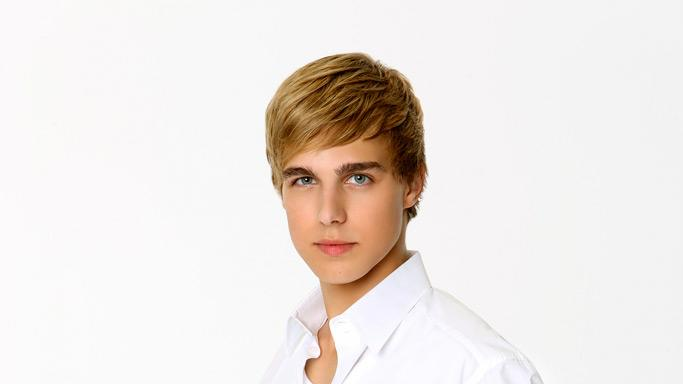 "Actor Cody Linley competes in season 7 of ""Dancing with the Stars."""