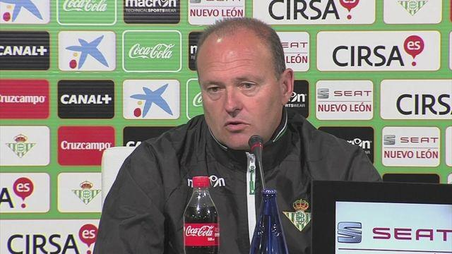 Real Betis confident ahead of Sevilla derby match