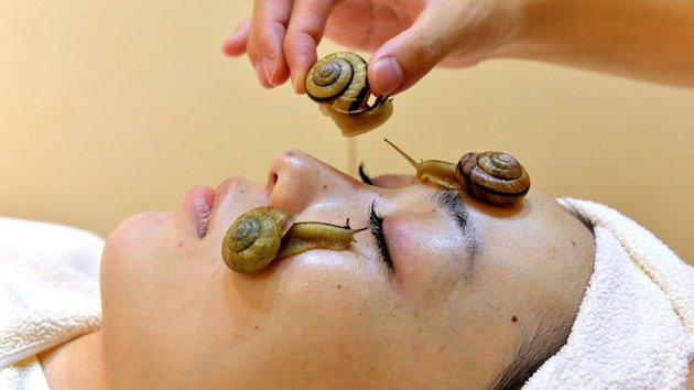 Snail Facials Probably Won't Work, Dermatologists Say (ABC News)
