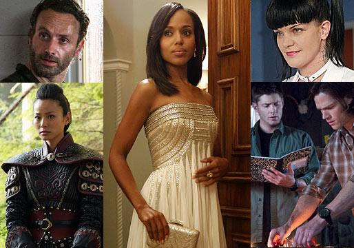 Ask Ausiello: Spoilers on Scandal, Supernatural, Once, Glee, Gossip Girl, NCIS, Dead and More!
