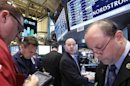 Wall St gains on economy, S&P 500 record still eludes