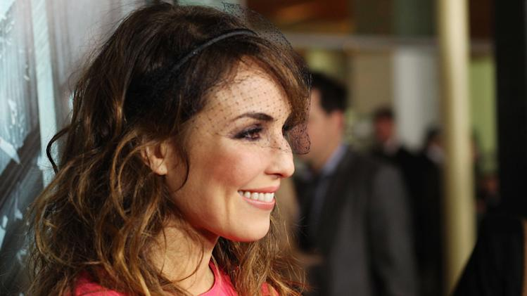"Noomi Rapace at FilmDistrict's World Premiere of ""Dead Man Down"" held at the ArcLight Hollywood, on Tuesday, Feb. 26, 2013 in Los Angeles. (Photo by Eric Charbonneau/Invision for FilmDistrict/AP Images)"