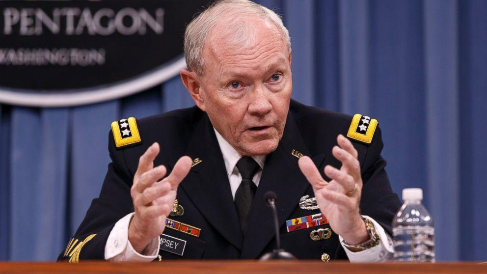 Gen. Martin Dempsey Calls Migrant Flow Into Europe a 'Real Crisis'