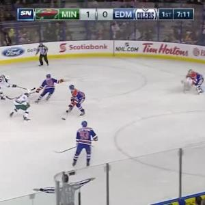 Viktor Fasth Save on Jason Pominville (12:52/1st)