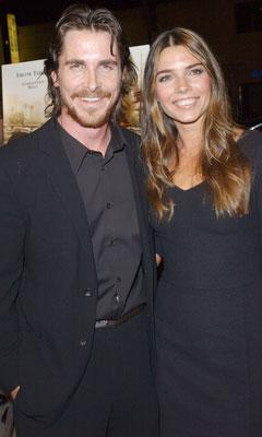Christian Bale and Sibi Blazic at the Los Angeles premiere of MGM's Harsh Times