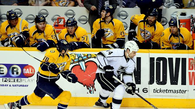 NHL: Los Angeles Kings at Nashville Predators