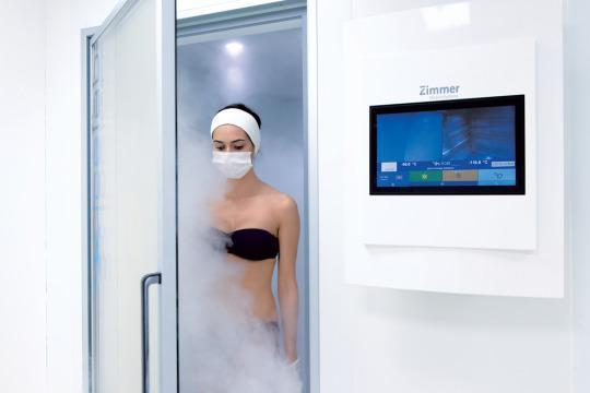 Hot Spot: Cryotherapy at the Thermes Marins-Monte Carlo Spa
