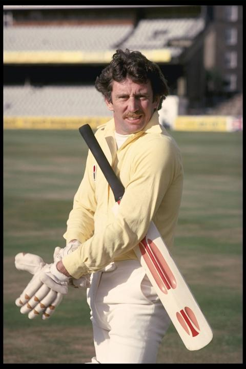 A portrait of Ian Chappell