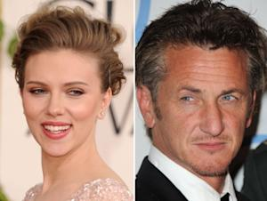 Scarlett Johansson and Sean Penn  -- Getty Images