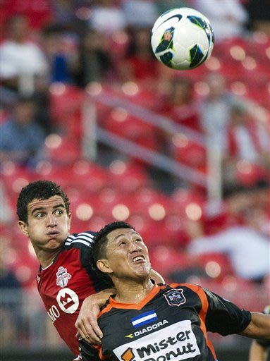 Toronto FC beat Aguila 5-1 in Champions League
