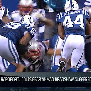 NFL NOW: Colts fear Bradshaw suffered broken ankle