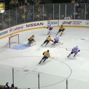 Pekka Rinne Save on Ryan Strome (04:01/3rd)
