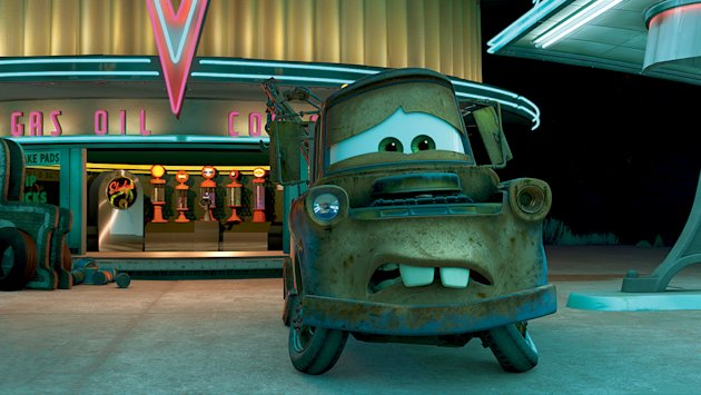 Cars Production Stills 2006 Walt Disney Pixar