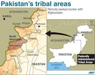 Map of northwestern Pakistan locating the Kurram tribal district, north of North Waziristan and bordering Afghanistan. A suicide bomber blew himself up in Kurram tribal district on Saturday, killing at least nine people and wounding 16 others, officials said