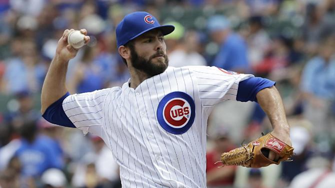 Arrieta pitches Cubs past Rockies 3-1