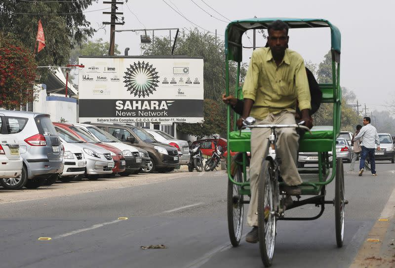 Some staff say India's Sahara has not paid salaries for months